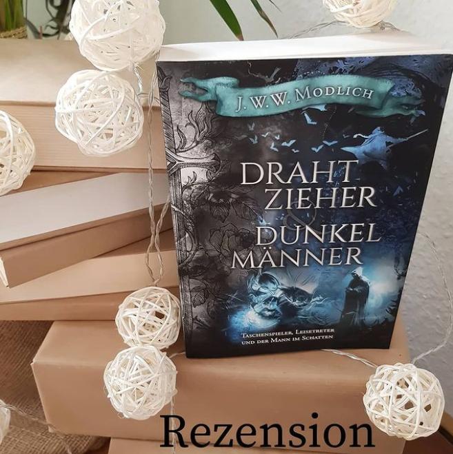 Cover Lesemonat März Drahtzieher und Dunkelmänner