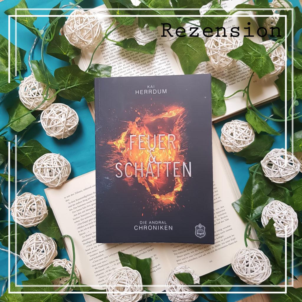 Cover Feuer und Schatten Andral-Chroniken