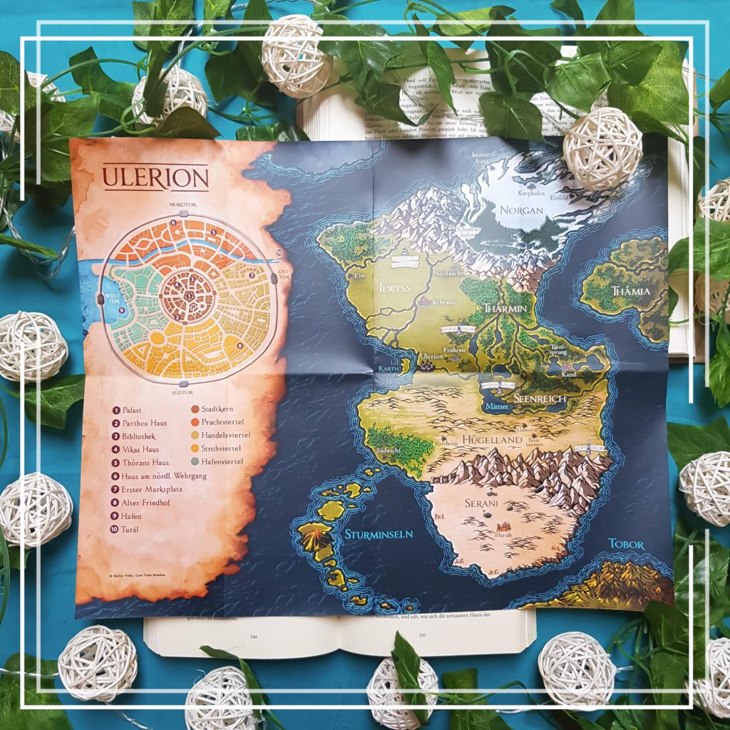 Karte Andral-Chroniken
