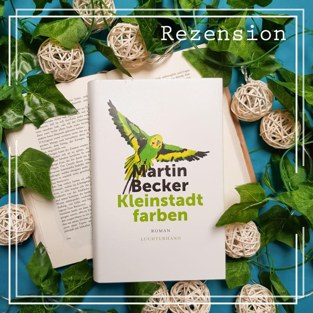 Cover von Kleinstadtfarben von Martin Becker